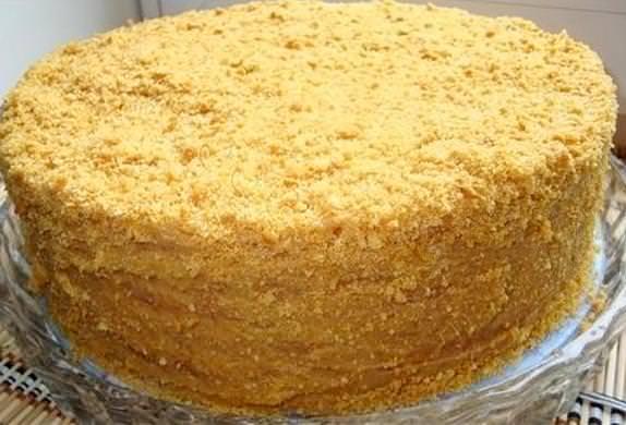 Як зробити торт медовик