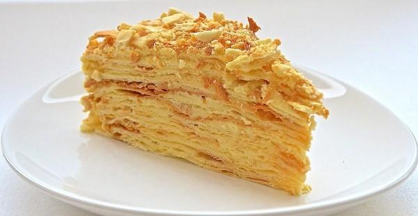 торт наполеон класичний рецепт