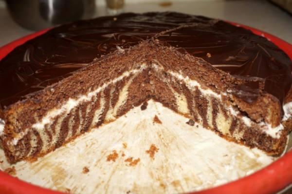 Шоколадный торт с ананасом рецепт пошагово