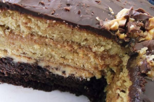 Как приготовить торт сникерс пошаговый рецепт